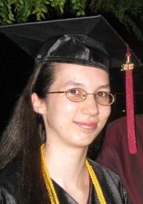 Rachel - Graduation picture